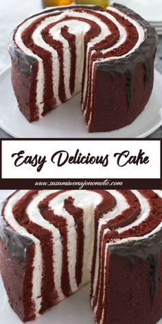 Easy Delicious Cake is part of Easy delicious cakes - Easy Delicious Cake Ingredients 1 pkg oz ) Philádelphiá Creám Cheese, softened 2 cups milk 1 tub oz ) Cool Whip Whipped To Baking Recipes, Cake Recipes, Dessert Recipes, Baking Pan, Food Cakes, Cupcake Cakes, Cupcakes, Easy Desserts, Delicious Desserts