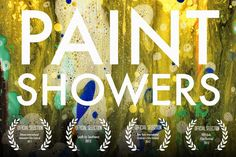 Paint Showers, A Colorful Stop Motion Animation by Miguel Jiron (2:33)