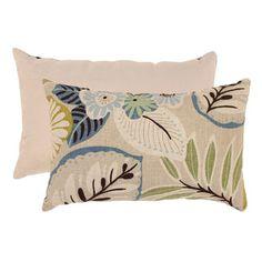 Pillow Perfect Tropical Rectangular Throw Pillow