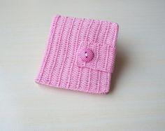 Carteira ipê rosa