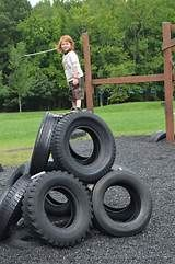 Wordless Wednesday- Recycled Tire Playground in Maryland Tire Playground, Natural Playground, Playground Ideas, Toddler Playground, 20 Years Old, Maryland, Commercial Playground Equipment, Philippe Model, Tyres Recycle