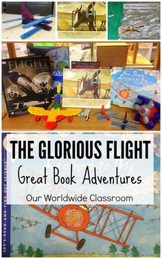 The Glorious Flight Activities and Lesson Ideas For Kids (Five in a Row Volume 1)