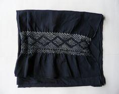Kimono jacket Japanese vintage silk dusky dark mauve