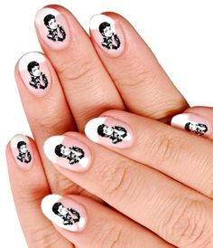 Michael Jackson nail design