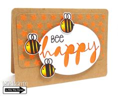 The Alley Way Stamps - Dana Warren - Star of the Show, Got It Covered, Bee Sweet Clear Stamps TAWS cards