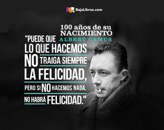 Albert Camus - 100 años - 7 de noviembre de 1913 - 7 de noviembre de 2013.  (1280x1024)