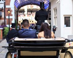 Enjoy a horse driven carriage after your wedding ceremony!