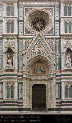 14th c. Facade Detail Duomo Florence