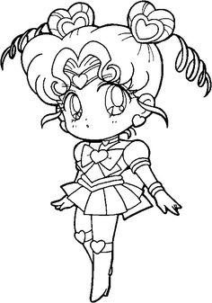 sailor moon coloring pages printable - Szukaj w Google