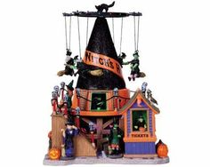 Lemax Spooky Town Witchs Hat with Adaptor 84744 | eBay