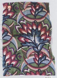Textile Sample, Wiener Werkstatte  1910-28  silk
