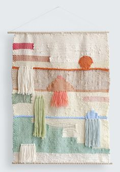 Maryanne Moodie tapestry wall-hanging. A beautiful one-off piece currently available online http://www.moderntimes.com.au/shop/artwork/originals/setting-sun-by-maryanne-moodie.phps