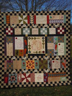 The Painted Quilt: Happy Scrappy Spring! Starts April 1, 2013.