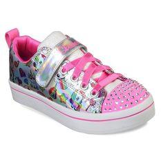 e27288cfa2bd4a Skechers Twinkle Toes Twi-Lites-Fancy Faces (Little Kid). Light ...