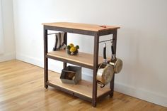 Handcrafted Kitchen Island Made with 100% di HerbsFurnishings