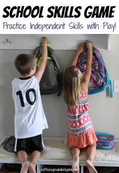 Teach Independent Skills for Kindergarten