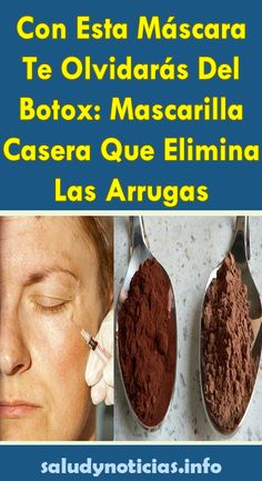 With This Mask You Will Forget About Botox: Home Mask That Eliminates Wrinkles - Healthy Lives Beauty Secrets, Beauty Hacks, Alexia Clark, Atkins Diet, Flat Tummy, Tips Belleza, Diy Skin Care, Skin Treatments, Face And Body