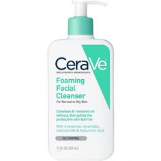 Cleanser For Oily Skin, Oily Skin Care, Face Cleanser, Anti Aging Skin Care, Natural Skin Care, Dry Skin, Natural Beauty, Best Foaming Cleanser, Natural Facial Cleanser