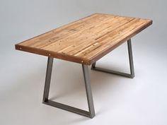 2 x Steel Table / Desk / Bench Pedestal Legs  - The Trapezium Design
