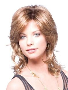 Carefree Medium Layered Wave Lace Front Synthetic Wig 14 Inches Item # W24979 Original Price: 5.00 Latest Price: .99