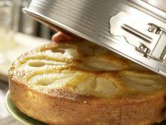 Birnen-Rührkuchen, gestürzt
