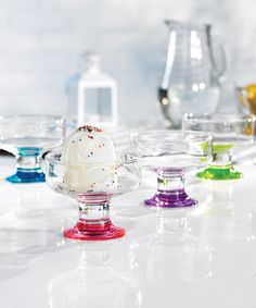 Take a look at this Spectrum Dessert Cup Set by Jay Import on #zulily today! $12 !!