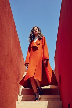 Orange State of Mind - HarpersBAZAAR.com
