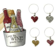 Find it at the Foundary - Wine Lovers Ornament Set