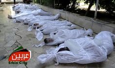 Rights advocates say 587 killed in Syrian government chemical attack By United Press International August 22, 2013 6:48 am