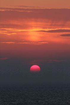 ocean + sunset ya mon