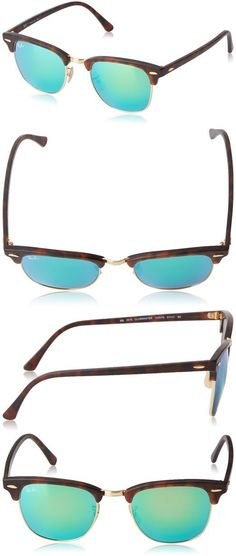 http://www.pinterest.com/perlovnick2015/ray-ban/   Prise: $102.56 List Price: $160.00 Ray-Ban RB3016 Classic Clubmaster Sunglasses   Composite/Plastic Frame. 					 						Imported 					 						Plastic frame 					 						Synthetic lens 					 						Non-Polarized 					 						100% UV protection coating 					 						Lens width: 49.2 millimeters 					 				 						 							Lens height: 42.3 millimeters 						 							Bridge: 21 millimeters