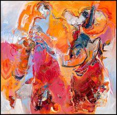 Bernadette Leijdekkers | Muziek music, art, modern, painting Figure Painting, Figurative Art, Abstract Art, Paintings, Artists, Colors, Illustration, People, Pictures