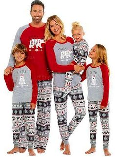 4b45dc0dd2  US  18.99  Bear Matching Family Christmas Pajamas (1031245852) Matching  Family Christmas