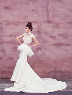 Couture Vestidos de novia, vestidos de boda de alta costura Karen Willis Holmes