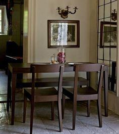 Table repas LA LOCANDA 140x70 de CALLIGARIS en bois stratifié