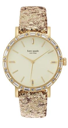 love this Kate Spade gold watch http://rstyle.me/n/tmicnr9te