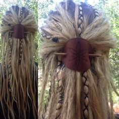 Today is week five day two! Not all dreads, just a few. Dreadlock Hairstyles, Boho Hairstyles, Pretty Hairstyles, Simple Hairstyles, Wedding Hairstyles, Viking Hairstyles, Black Hairstyles, Natural Hairstyles, Viking Braids