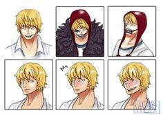 Cora-san expressions