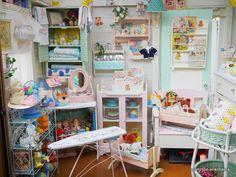 11月17日 本日UP予定商品 | Primrose-Yokohama maririnのブログ Vintage Decor, Vintage Antiques, Retro Decorating, Cardboard Letters, Baby Doll Nursery, Pastel Room, Silicone Baby Dolls, Toy Display, Vintage Kitchenware