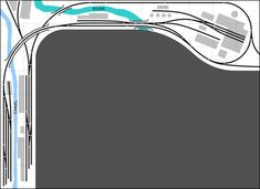 The White River and Northern Model Railroad: Track Plans for Other People Model Railway Track Plans, Ford Torino, Model Train Layouts, Train Tracks, Model Trains, Scale Models, Railroad Tracks, How To Plan, People