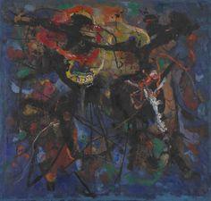 Ludmila Padrtova. Blue (Modrý), 1957