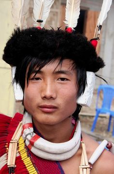 Ao tribe, Northeast India http://desert-dreamer.tumblr.com/post/7269720505/ao-tribe-north-east-india