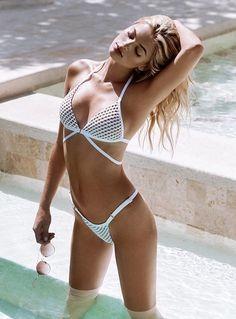 Bikini Babes, Sexy Bikini, Bandeau Swimsuit, Bikini Swimwear, Rich Girls, Looks Pinterest, Sugar Baby, Beach Bunny, Country Girls