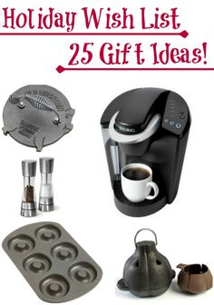 The holiday season is upon us and Christmas is just around the corner. Hopefully these 25 Gift Ideas For Mom will help you out with your holiday shopping!