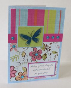 May Your Day Be Wonderful Christian Birthday Card With Scripture by stufffromtrees on Etsy