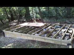 Build A Square And Level Platform For A Shed Or Tiny House