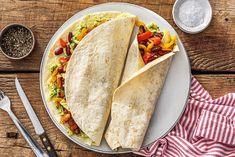 Mexikanische Burritos mit Bohnen
