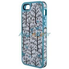 Natural style tree pattern cotton materialsilicone case cover for apple iPhone 5,buy and dropship,good outlook,free shipping from China wholesale.