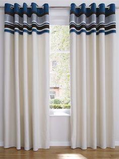 BlueHamilton Embellished Eyelet Curtains