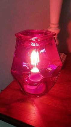 Our stunning irregular Pink glass warmer from our Exclusive Summer Collection - its leaving us soon though so catch it while you can Colored Light Bulbs, Pink Topaz, Organic Shapes, Scentsy, Summer Collection, Pink Color, Cozy Corner, Fragrances, Glass